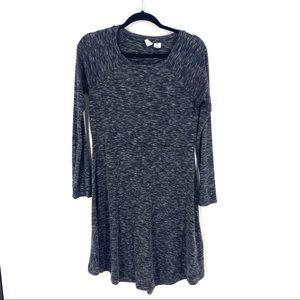 Artisan NY | Heather Grey Long Sleeve Dress Sz S